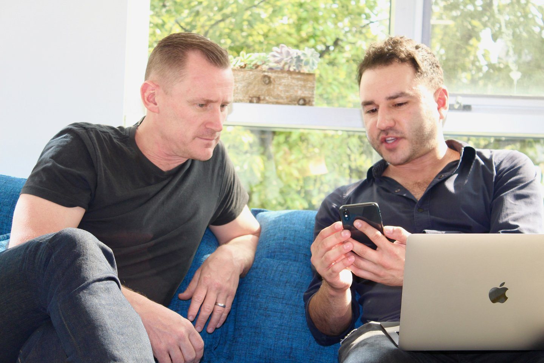 Scott & Sina getting into the Tapcart tech